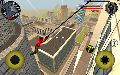 Screenshots von Rope'n'fly 4 für Android-Tablet, Smartphone.