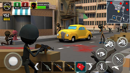 Stickman royale: World war battle screenshot 3