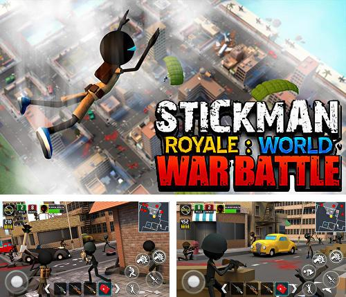 En plus du jeu Feu croisé: Légendes pour téléphones et tablettes Android, vous pouvez aussi télécharger gratuitement Stickman royal: Bataille de la guerre mondiale, Stickman royale: World war battle.