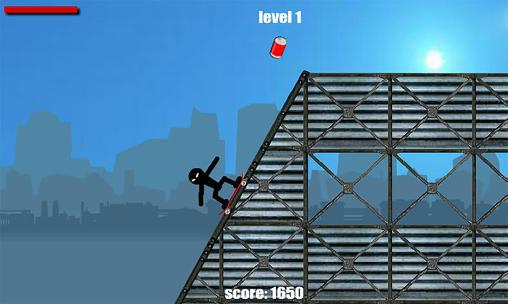 Download Stickman skate Android free game.
