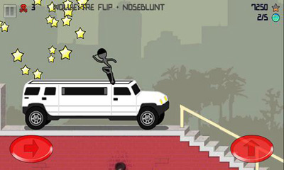 Stickman Skater Pro screenshot 2