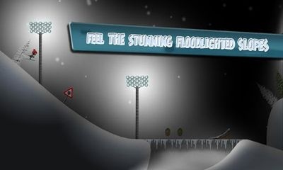 Screenshots do Stickman Ski Racer - Perigoso para tablet e celular Android.