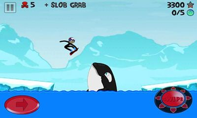 Stickman Snowboarder screenshot 2