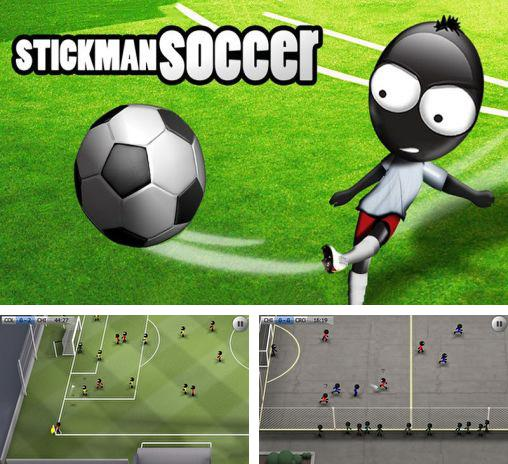 In addition to the game Stickman football for Android phones and tablets, you can also download Stickman soccer for free.