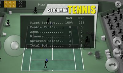 Download Stickman Tennis Android free game.