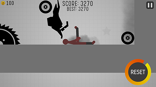 Kostenloses Android-Game Stickman Turbo Dismount. Vollversion der Android-apk-App Hirschjäger: Die Stickman turbo dismount für Tablets und Telefone.