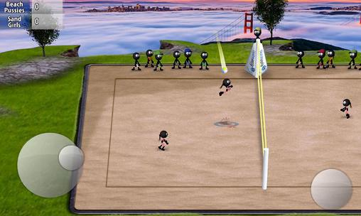 Stickman volleyball screenshot 2