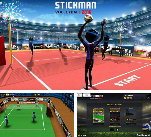 In addition to the game Volleyball: Extreme edition for Android phones and tablets, you can also download Stickman volleyball 2016 for free.
