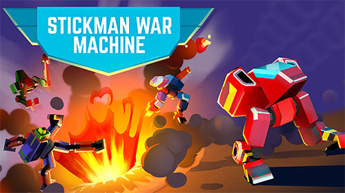 Stickman war machine poster