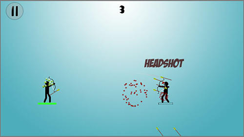Capturas de pantalla de Stickman warriors archers para tabletas y teléfonos Android.