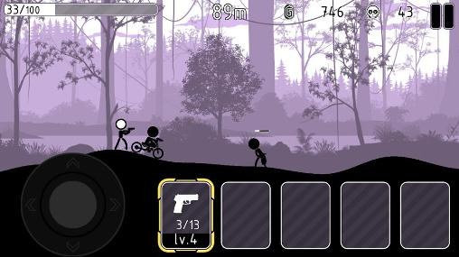Screenshots von The stickman vikings für Android-Tablet, Smartphone.