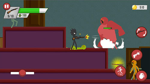 Stickman zombie shooter: Epic stickman games screenshot 2
