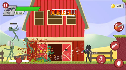 Stickman zombie shooter: Epic stickman games screenshot 3
