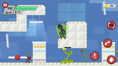 Stickman zombie shooter: Epic stickman games screenshot 4