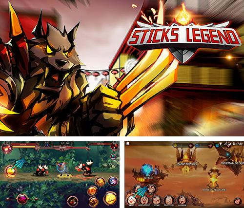 In addition to the game NY punch boxing champion: Real pound boxer 2018 for Android phones and tablets, you can also download Sticks legends: Ninja warriors for free.