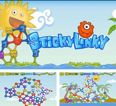 In addition to the game Nightmare Runner for Android phones and tablets, you can also download Sticky Linky for free.