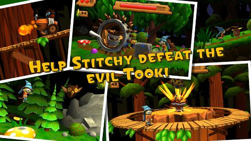Screenshots von Stitchy: Scarecrow's adventure für Android-Tablet, Smartphone.