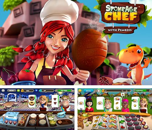 Stone age chef: The crazy restaurant and cooking game
