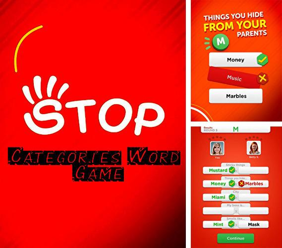 Stop: Categories word game
