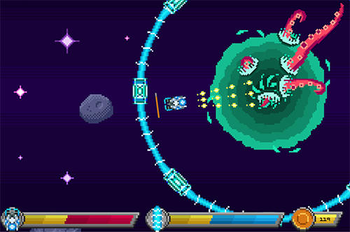 Stop the invasion: Destroy the tentacles! screenshot 1