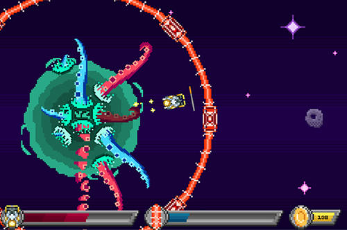 Stop the invasion: Destroy the tentacles! screenshot 2