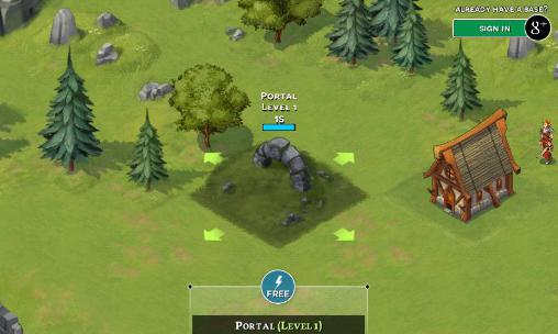Storm born: War of legends screenshot 2