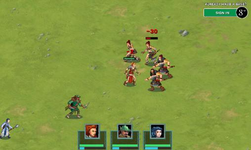 Storm born: War of legends screenshot 4
