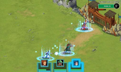 Storm born: War of legends screenshot 5