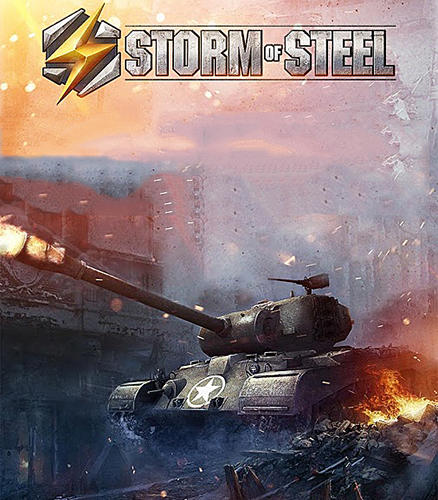 Storm of steel: Tank commander poster