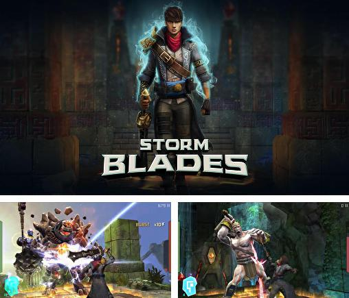 In addition to the game Horn for Android phones and tablets, you can also download Stormblades for free.