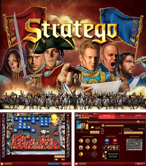 In addition to the game Ticket to Ride for Android phones and tablets, you can also download Stratego: Official board game for free.