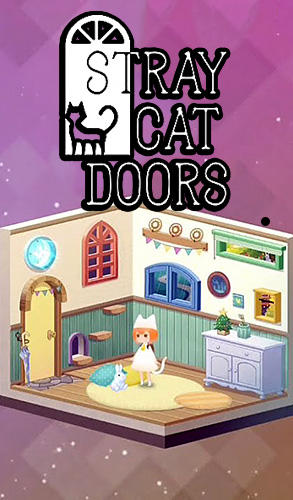 Stray cat doors poster
