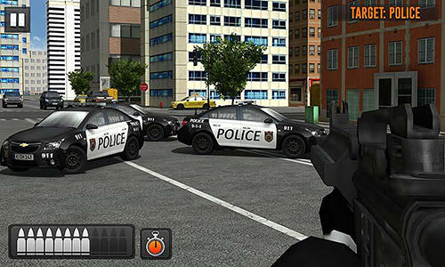 Street bank robbery 3D: Best assault game screenshot 3