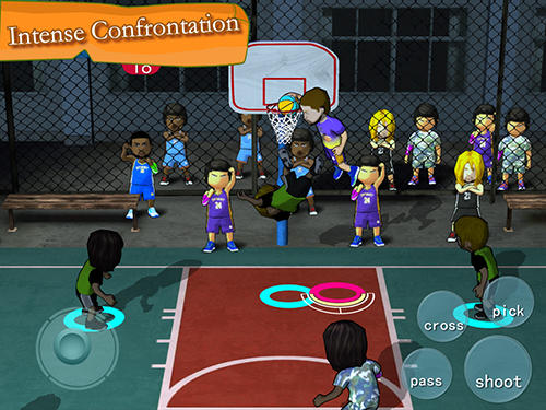 Download Street basketball association Android free game.