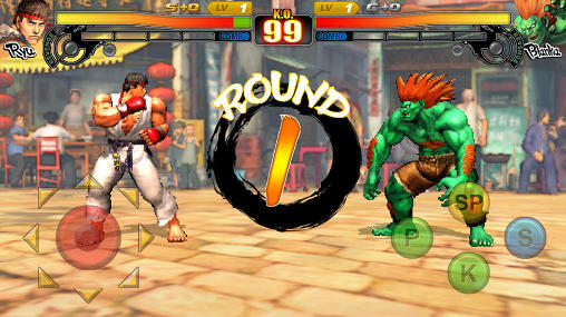 Kostenloses Android-Game Street Fighter 4: Arena. Vollversion der Android-apk-App Hirschjäger: Die Street fighter 4: Arena für Tablets und Telefone.