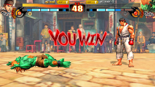 Screenshots von Street fighter 4: Arena für Android-Tablet, Smartphone.