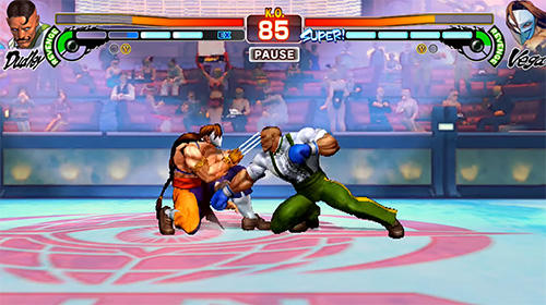 Kostenloses Android-Game Street Fighter IV HD. Vollversion der Android-apk-App Hirschjäger: Die Street Fighter 4 HD für Tablets und Telefone.