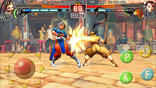 Скачати гру Street Fighter 4 HD на Андроїд телефон і планшет.