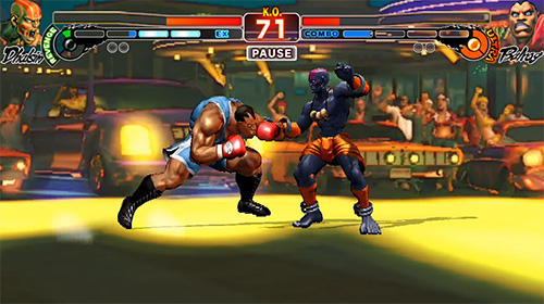 Screenshots do Street Fighter 4 HD - Perigoso para tablet e celular Android.