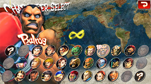 安卓平板、手机Street Fighter 4 HD截图。