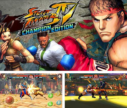 In addition to the game Fundamentto - Water Blade for Android phones and tablets, you can also download Street Fighter 4 HD for free.
