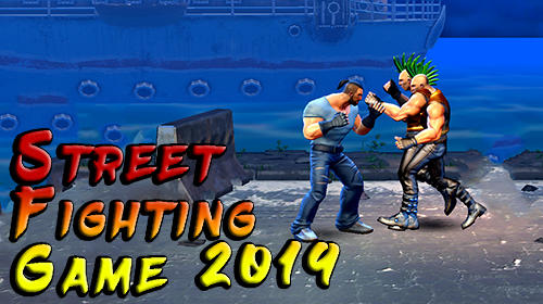 Street fighting game 2019 poster