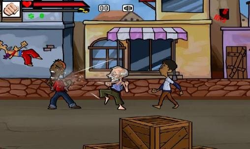 Street fighting: Grandpa screenshot 1