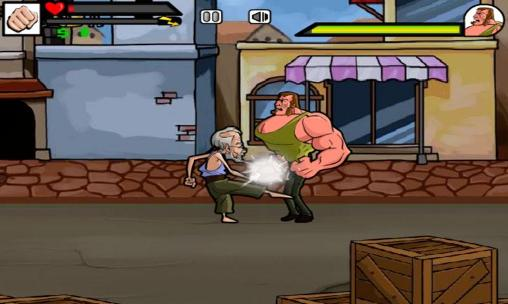 Street fighting: Grandpa screenshot 2