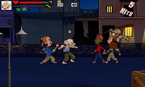 Гра Street fighting: Grandpa на Android - повна версія.