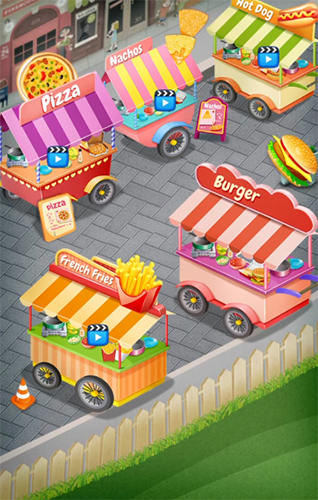 Screenshots von Street food stand cooking game für Android-Tablet, Smartphone.