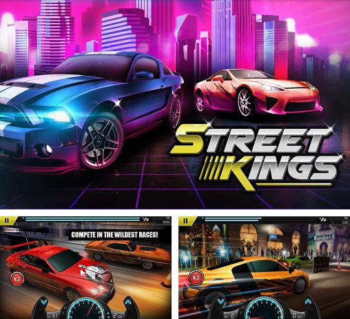 In addition to the game Drag Racing for Android phones and tablets, you can also download Street kings: Drag racing for free.