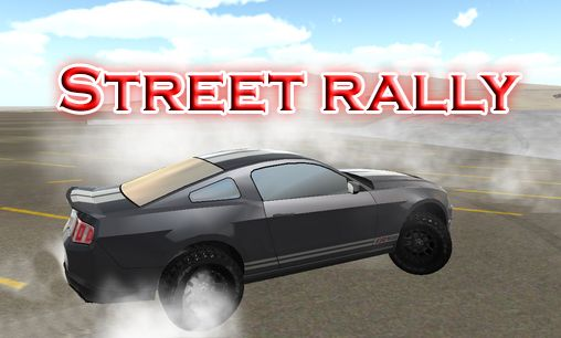 Street rally poster