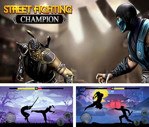 Street shadow fighting champion