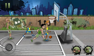 Screenshots of the Streetball for Android tablet, phone.